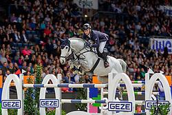 JUNG Michael (GER), Sportsmann S<br /> Stuttgart - German Masters 2019<br /> Preis der Firma GEZE GmbH<br /> Int. Springprüfung mit Siegerrunde (1.50 m)<br /> CSI5*-W, Wertungsprüfung für LONGINES Ranking<br /> 16. November 2019<br /> © www.sportfotos-lafrentz.de/Stefan Lafrentz