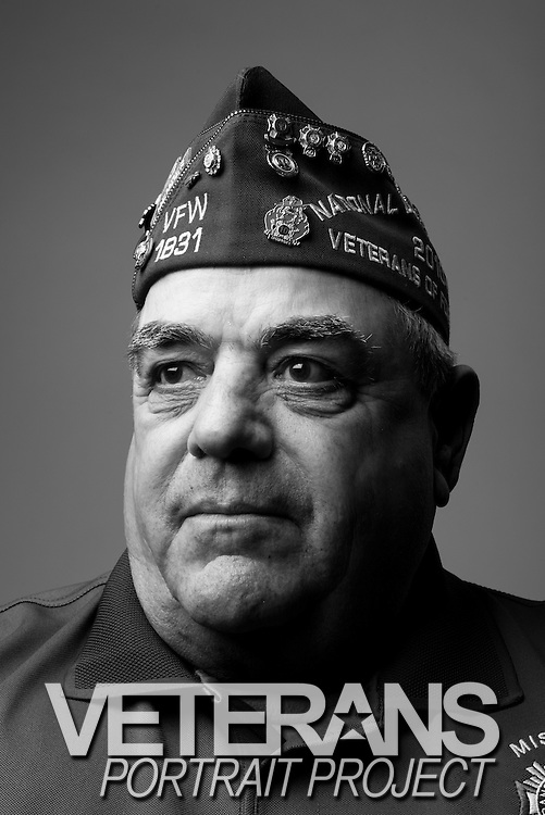Earl J. Boyer<br /> Army<br /> E-4<br /> Artillery<br /> 1963-1966<br /> Vietnam<br /> <br /> Veterans Portrait Project<br /> Louisville, KY<br /> VFW Convention <br /> (Photos by Stacy L. Pearsall)