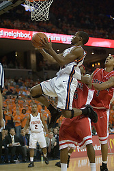 Virginia's Sean Singletary (44) beats the Arizona defense and heads to the basket as UVA defeated the #10 ranked Wildcats 93-90 in the first game at the new John Paul Jones Arena, in Charlottesville, VA on November 12, 2006...