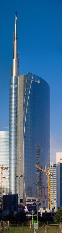 Porta Garibaldi, Torre Hines  Cesar Pelli A Tower, Milano