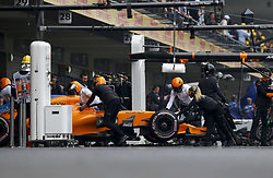 October 27, 2018 - Mexico-City, Mexico - Motorsports: FIA Formula One World Championship 2018, Grand Prix of Mexico, .#14 Fernando Alonso (ESP, McLaren F1 Team) (Credit Image: © Hoch Zwei via ZUMA Wire)