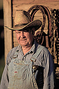 Candid portrait of a farmer, Waitsburg, Palouse, eastern Washington, Pacific Northwest, model and property released