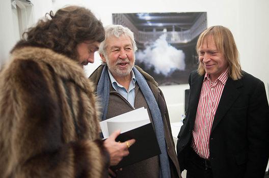 VIKTOR WYLD; ALAN FRENKIEL; JAMES PUTNAM, The Uncanny: Adeline de Monseignat and Berndnaut Smilde. Curated by James Putnam. Ronchini Gallery. 22 Dering St. London. 15 January 2013