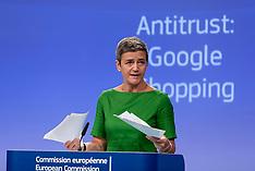 Belgium: European Commission Fines Google 2.42 Billion Euros - 26 June 2017