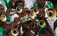 Photo: Steve Bond/Richard Lane Photography.<br /> Nigeria v Mali. Africa Cup of Nations. 25/01/2008. Nigerian horn section