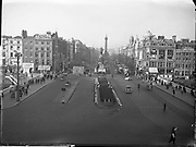 Views of O' Connell Bridge, O' Connell Street, Dublin. 07/01/58,<br />