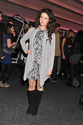 SHIRLEY LEIGH-WOOD OAKES at the launch of famed American fitness club 'Equinox' 99 High Street Kensington, London on 23rd October 2012.