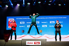 World Ski Championships - Medal Ceremony - 22 February 2019