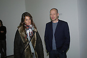 Tracey Emin and Carl Freedman. Mika Kato, Martin Kobe and Masako Ando  private view. White Cube, 48 Hoxton Square, London, 20 January 2005. <br />