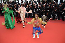 May 18, 2019 - Cannes, France - CANNES, FRANCE - MAY 18: Dancers from the movie ''Port Authority'' perform at the screening of ''Les Plus Belles Annees D'Une Vie'' during the 72nd annual Cannes Film Festival on May 18, 2019 in Cannes, France. (Credit Image: © Frederick InjimbertZUMA Wire)