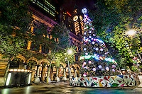 Sydney's City Christmas Tree, Martin Place