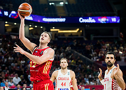 Andrey Zubkov of Russia during basketball match between National Teams of Croatia and Russia at Day 11 in Round of 16 of the FIBA EuroBasket 2017 at Sinan Erdem Dome in Istanbul, Turkey on September 10, 2017. Photo by Vid Ponikvar / Sportida