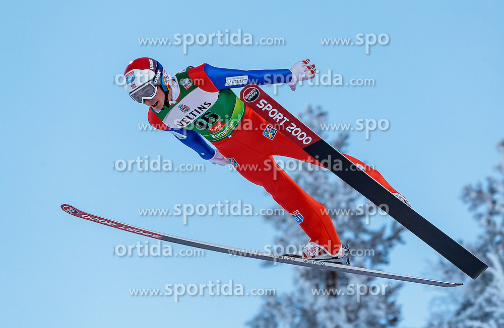 25.11.2016, Nordic Arena, Ruka, FIN, FIS Weltcup Nordische Kombination, Nordic Opening, Kuusamo, Skisprung, im Bild Jarl Magnus Riiber (NOR) // Jarl Magnus Riiber (NOR) during Skijumping of FIS Nordic Combined World Cup of the Nordic Opening at the Nordic Arena in Ruka, Finland on 2016/11/25. EXPA Pictures © 2016, PhotoCredit: EXPA/ JFK