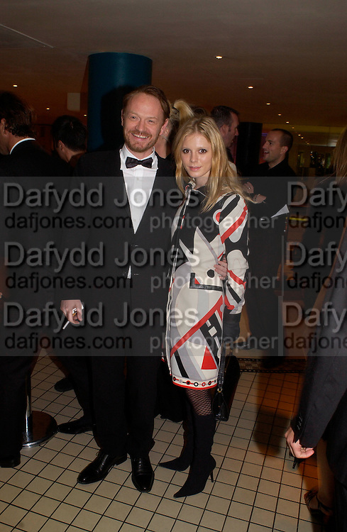 "Jared Harris and Emilia Fox, The Times BFI London Film Festival 2003 - closing night party at Mezzo, ""Sylvia""© Copyright Photograph by Dafydd Jones 66 Stockwell Park Rd. London SW9 0DA Tel 020 7733 0108 www.dafjones.com"