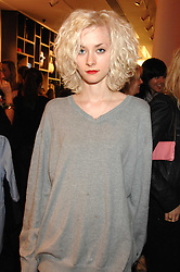 Model PORTIA FREEMAN at a party to celebrate the opening of the new H&M store at 234 Regent Street, London on 13th February 2008.<br /><br />NON EXCLUSIVE - WORLD RIGHTS