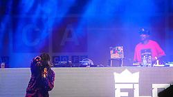 A cantora de rap e MC Flora Matos se apresenta no palco Meca durante a 20ª edição do Planeta Atlântida, que ocorre nos dias 29 e 30 de janeiro, na SABA, na praia de Atlântida, no Litoral Norte gaúcho.  Foto: Carlos Ferrari / Agência Preview