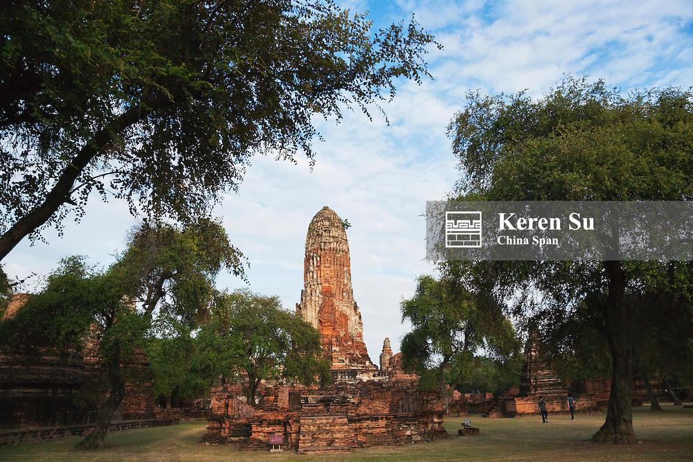 Wat Phra Ram, Ayutthaya Historical Park, UNESCO World Heritage site.