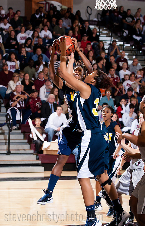 November 5, 2011: The Texas Wesleyan University Rams play against the Oklahoma Christian University Lady Eagles at the Eagles Nest on the campus of Oklahoma Christian University.