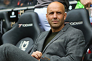 Milton Keynes Dons manager Paul Tisdale during the EFL Sky Bet League 1 match between Milton Keynes Dons and Burton Albion at stadium:mk, Milton Keynes, England on 5 October 2019.
