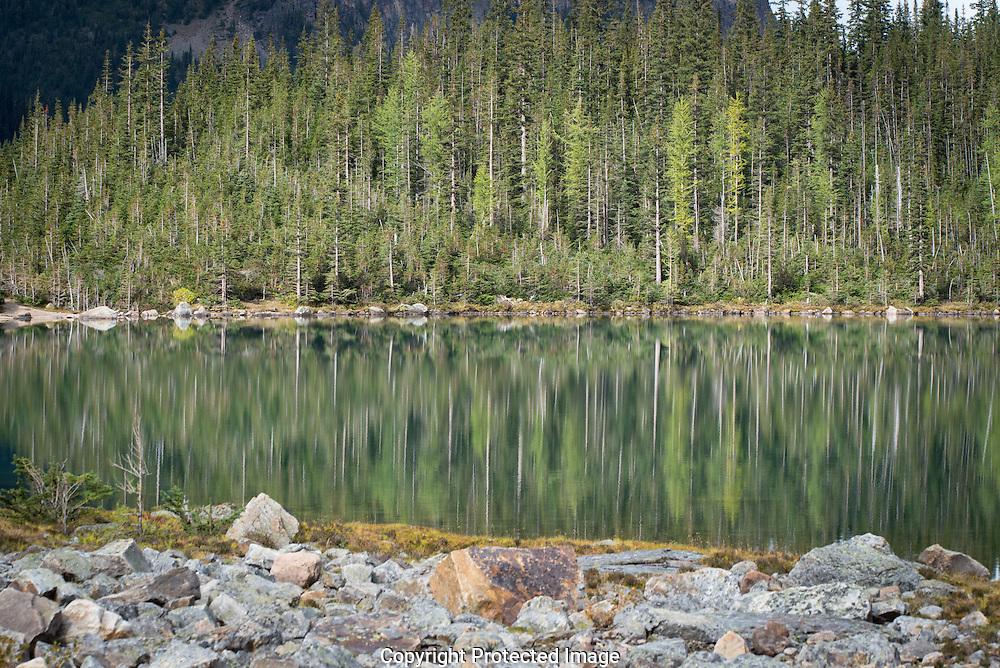 Annette Lake., Alberta, Canada, Isobel Springett
