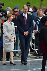 © Licensed to London News Pictures. 26/09/2017. London, UK. The Duke of Cambridge celebrates the 50th Anniversary of Milton Keynes in a ceremony at Campbell Park. Photo credit: Ray Tang/LNP