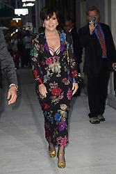 September 9, 2017 - New York, NY, USA - September 8, 2017 New York City..Kris Jenner attending the Daily Front Row's Fashion Media Awards at Four Seasons Hotel New York Downtown on September 8, 2017 in New York City. (Credit Image: © Kristin Callahan/Ace Pictures via ZUMA Press)