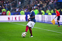 Bacary SAGNA - 26.03.2015 - France / Bresil - Match Amical<br />