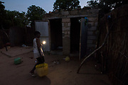 MBOUR - SENEGAL: Villagers daily life in a village off grid August 07 2017 near Mbour, Senegal. Photo by Xaume Olleros
