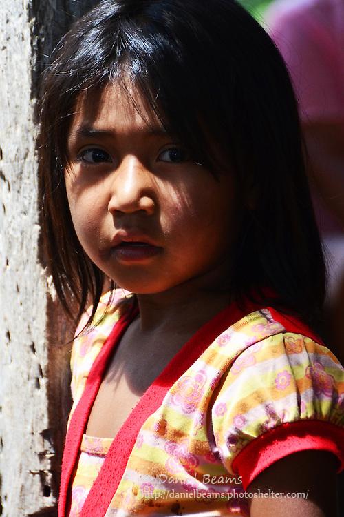 Guarani girl in Pirirenda, Gutierrez, Santa Cruz, Bolivia