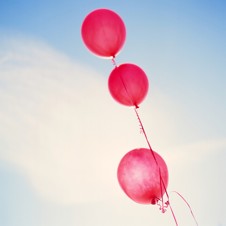 ANCHORAGE, ALASKA - 2012: Balloons.