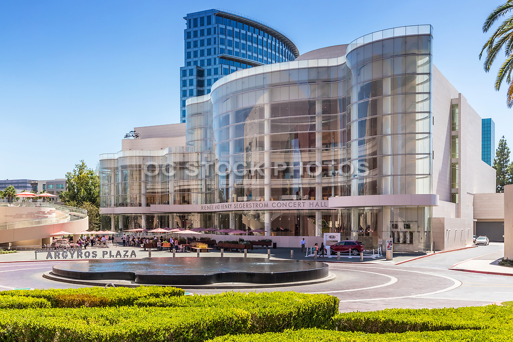 Renee And Henry Segerstrom Concert Hall At Argyros Plaza In Costa Mesa