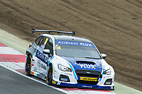 #116 Ashley Sutton Adrian Flux Subaru Racing BMR  Subaru Levorg GT  during BTCC Practice  as part of the BTCC Championship at Brands Hatch, Fawkham, Longfield, Kent, United Kingdom. September 30 2017. World Copyright Peter Taylor/PSP.