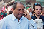 Roma 6 Settembre 2011.Manifestazione del sindacato CGIL contro la manovra del governo Berlusconi. Antonio Di Pietro