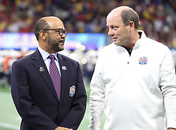 during the Chick-fil-A Bowl Game at  the Mercedes-Benz Stadium, Saturday, December 29, 2018, in Atlanta. ( AJ Reynolds via Abell Images for Chick-fil-A Kickoff)