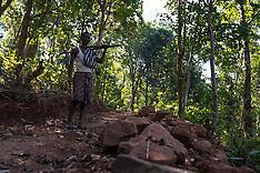 man scrapes through mountains to make a 10km-road - 2 Feb 2018