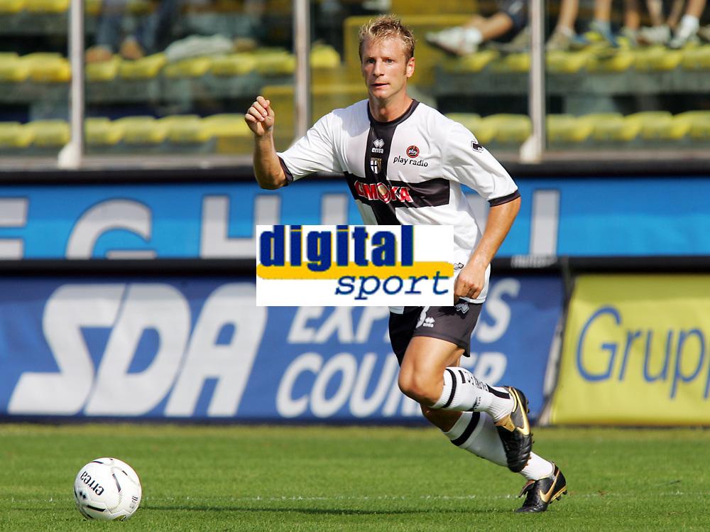 Parma 24/09/2006<br /> Campionato Italiano Serie A 2006/07<br /> Parma-Roma 0-4<br /> Vincenzo Grella Parma<br /> Foto Luca Pagliaricci Inside<br /> www.insidefoto.com