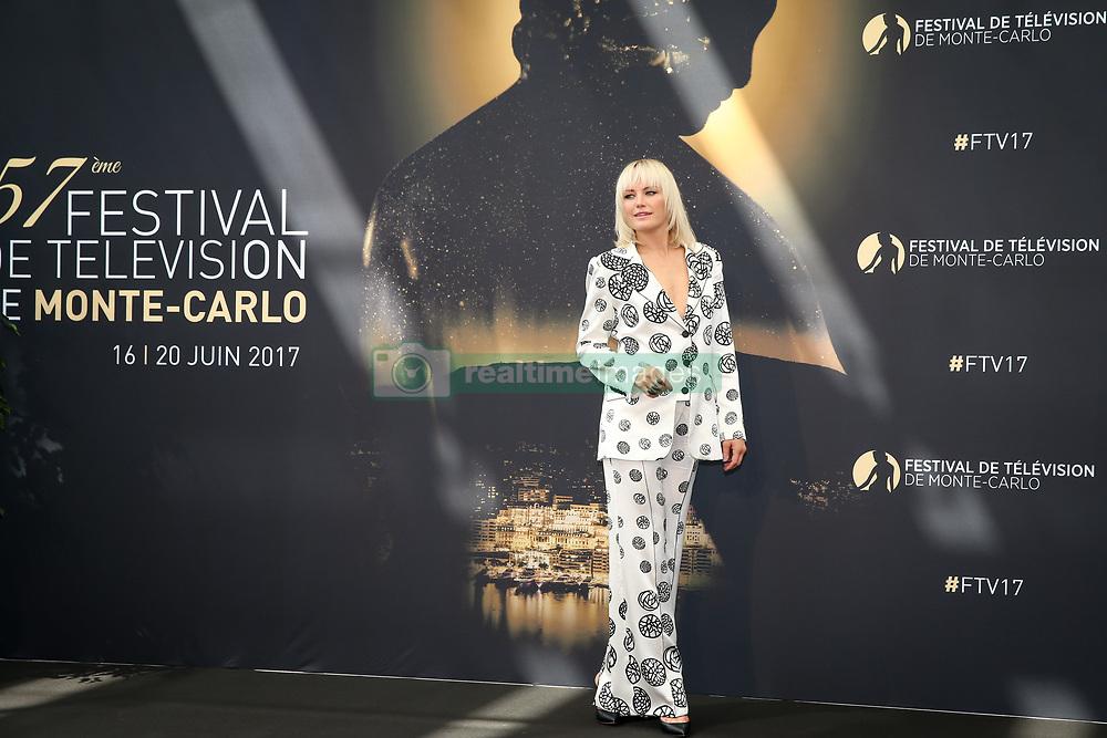 June 17, 2017 - Monte-Carlo, Monaco - Malin Akerman - Photocall 'Billions' - 57ème Festival de la Television de Monte-Carlo. Monte-Carlo, Monaco, 17/06/2017. # 57EME FESTIVAL DE LA TELEVISION DE MONTE-CARLO - PHOTOCALL 'BILLIONS' (Credit Image: © Visual via ZUMA Press)
