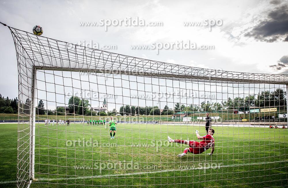 Ziga Frelih of NK Krsko at penalty shots during football match between ND Ilirija 1911 and NK Krsko in 1st Round of Slovenian Football Cup 2017/18, on August 16, 2017 in Stadium Ilirija, Ljubljana, Slovenia. Photo by Vid Ponikvar / Sportida