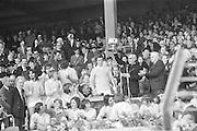 All Ireland Minor Football Final in Croke Park, Tyrone v Kildare..Commissioned by Kerryman (john Barrett)..23.09.1973  23rd September 1973