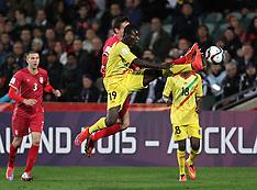 Auckland-Football, Under 20 World Cup, semi final, Serbia v Mali