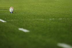 Gilbert Match Ball - Photo mandatory by-line: Dougie Allward/JMP - Tel: Mobile: 07966 386802 08/03/2013 - SPORT - RUGBY - Memorial Stadium - Bristol. Bristol v Nottingham - RFU Championship.