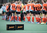Den Haag - Hoofdklasse hockey dames, HDM-GRONINGEN  (6-2).  Bovelander kratjes  COPYRIGHT KOEN SUYK
