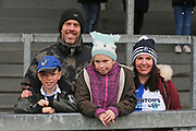 Bristol Rovers fans before the EFL Sky Bet League 1 match between Bristol Rovers and Doncaster Rovers at the Memorial Stadium, Bristol, England on 23 December 2017. Photo by Gary Learmonth.