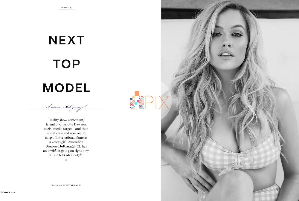 Simone Holtznagel for MEN'S STYLE magazine, Australia :: Autumn 2015 Issue 63