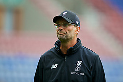 WIGAN, ENGLAND - Friday, July 14, 2017: Liverpool's manager Jürgen Klopp before a preseason friendly match against Wigan Athletic at the DW Stadium. (Pic by David Rawcliffe/Propaganda)