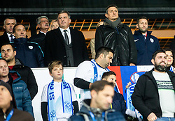 Borut Pahor, president of Slovenia during the 2020 UEFA European Championships group G qualifying match between Slovenia and Latvia at SRC Stozice on November 19, 2019 in Ljubljana, Slovenia. Photo by Vid Ponikvar / Sportida