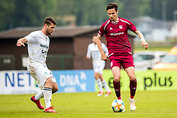 Crnov Ivan of NK Triglav and Ivan Petrovic of NK Krsko during Football match between NK Triglav Kranj and NK Krsko in 33th Round of Prva liga Telekom Slovenije 2018/19, on May 15th, 2019, in Sports park Kranj, Slovenia. Photo by Grega Valancic / Sportida
