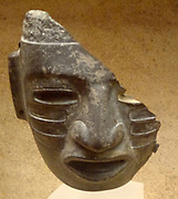 Olmec mask, pottery. Teotihuacan. 150 BC-750 AD, Meso-American