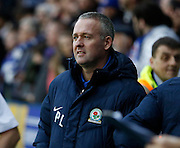 Blackburn Rovers manager, Paul Lambert before the Sky Bet Championship match between Reading and Blackburn Rovers at the Madejski Stadium, Reading, England on 20 December 2015. Photo by Andy Walter.