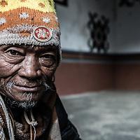 Beggar in Bhutan.